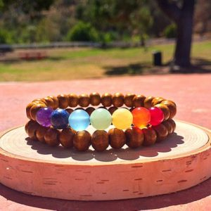 Shop Chakra Bracelets! Seven Chakra Bracelets, Healing Bracelet, Spiritual Jewelry, Meditation, Yoga Beaded Bracelets, Healing Crystals and Stones | Shop jewelry making and beading supplies, tools & findings for DIY jewelry making and crafts. #jewelrymaking #diyjewelry #jewelrycrafts #jewelrysupplies #beading #affiliate #ad