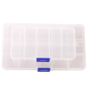 Shop Bead Storage Containers & Organizers! Small Container Plastic Box Adjustable Accessory Organizer | Shop jewelry making and beading supplies, tools & findings for DIY jewelry making and crafts. #jewelrymaking #diyjewelry #jewelrycrafts #jewelrysupplies #beading #affiliate #ad