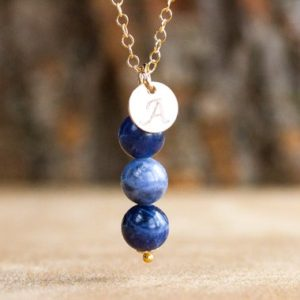 Shop Sodalite Pendants! Sodalite Pendant Necklace – Blue Stone Necklace – Sodalite Pendant – Sodalite Choker – Gemstone Jewelry – Sodalite Jewelry – Throat Chakra | Natural genuine Sodalite pendants. Buy crystal jewelry, handmade handcrafted artisan jewelry for women.  Unique handmade gift ideas. #jewelry #beadedpendants #beadedjewelry #gift #shopping #handmadejewelry #fashion #style #product #pendants #affiliate #ad