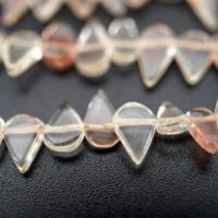 Oregon Sunstone Drop Shape Beads 5-9.5mm (etb01487) Healing Crystal / unique Jewelry / vintage Jewelry / gemstone Necklace | Natural genuine Gemstone jewelry. Buy crystal jewelry, handmade handcrafted artisan jewelry for women.  Unique handmade gift ideas. #jewelry #beadedjewelry #beadedjewelry #gift #shopping #handmadejewelry #fashion #style #product #jewelry #affiliate #ad