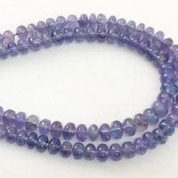 Tanzanite Beads, Natural Tanzanite Plain Rondelles, Tanzanite Necklace, 4-4.5mm, 12 Pcs – Agp355 | Natural genuine Gemstone jewelry. Buy crystal jewelry, handmade handcrafted artisan jewelry for women.  Unique handmade gift ideas. #jewelry #beadedjewelry #beadedjewelry #gift #shopping #handmadejewelry #fashion #style #product #jewelry #affiliate #ad