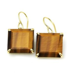 Tiger eye earrings,square earrings,statement earrings,large gold earrings,large square earrings,gemstone earrings,gold dangle earrings | Natural genuine Tiger Eye earrings. Buy crystal jewelry, handmade handcrafted artisan jewelry for women.  Unique handmade gift ideas. #jewelry #beadedearrings #beadedjewelry #gift #shopping #handmadejewelry #fashion #style #product #earrings #affiliate #ad