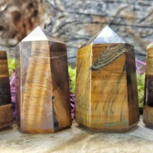 Tigers Eye Crystal Healing Tower / Grid Healing Stones – 099 | Natural genuine stones & crystals in various shapes & sizes. Buy raw cut, tumbled, or polished gemstones for making jewelry or crystal healing energy vibration raising reiki stones. #crystals #gemstones #crystalhealing #crystalsandgemstones #energyhealing #affiliate #ad