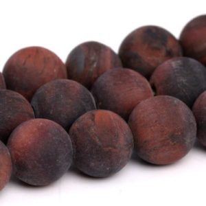 Shop Tiger Eye Beads! Matte Mahogany Red Tiger Eye Beads Grade A Genuine Natural Gemstone Round Loose Beads 4MM 6MM 8MM 10MM Bulk Lot Options | Natural genuine beads Tiger Eye beads for beading and jewelry making.  #jewelry #beads #beadedjewelry #diyjewelry #jewelrymaking #beadstore #beading #affiliate #ad