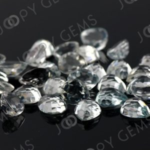 Shop Topaz Cabochons! White Topaz Rose Cut Pear Cabochon 8x10mm – per stone | Natural genuine stones & crystals in various shapes & sizes. Buy raw cut, tumbled, or polished gemstones for making jewelry or crystal healing energy vibration raising reiki stones. #crystals #gemstones #crystalhealing #crystalsandgemstones #energyhealing #affiliate #ad