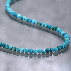 Shop Turquoise Necklaces! Turquoise Necklace Turquoise Bead Necklace Turquoise Jewelry Dainty Necklace Bridesmaid Gift Christmas Gift For Mom Gift For Girlfriend | Natural genuine Turquoise necklaces. Buy crystal jewelry, handmade handcrafted artisan jewelry for women.  Unique handmade gift ideas. #jewelry #beadednecklaces #beadedjewelry #gift #shopping #handmadejewelry #fashion #style #product #necklaces #affiliate #ad