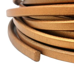 Shop Cord! 1 Yard Metallic Brown 10mmx6mm Licorice Leather, Oval Licorice Cord SLL-219 | Shop jewelry making and beading supplies, tools & findings for DIY jewelry making and crafts. #jewelrymaking #diyjewelry #jewelrycrafts #jewelrysupplies #beading #affiliate #ad