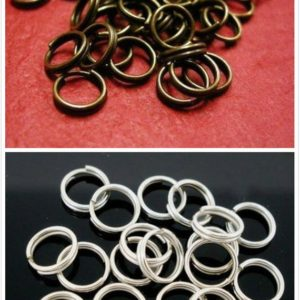 Shop Jump Rings! 100pc 10mm  split jump rings-pls pick a color | Shop jewelry making and beading supplies, tools & findings for DIY jewelry making and crafts. #jewelrymaking #diyjewelry #jewelrycrafts #jewelrysupplies #beading #affiliate #ad
