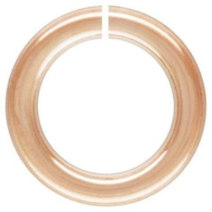 Shop Jump Rings! 14Kt Rose Gold Filled 21 Gauge 4.5mm Open Jump Ring – 50Pcs  Wholesale price (13023)/1 | Shop jewelry making and beading supplies, tools & findings for DIY jewelry making and crafts. #jewelrymaking #diyjewelry #jewelrycrafts #jewelrysupplies #beading #affiliate #ad