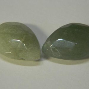 Shop Aventurine Faceted Beads! 18MM Faceted Gemstone Green Aventurine Drop Briolettes – Green Top Drilled Faceted Teardrop Briolette Beads – 2 Beads Per Order KS37 | Natural genuine faceted Aventurine beads for beading and jewelry making.  #jewelry #beads #beadedjewelry #diyjewelry #jewelrymaking #beadstore #beading #affiliate #ad