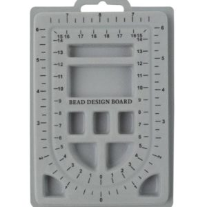 "Shop Bead Boards! 6-1/2"" x 4-1/2"" Mini Flock Beading Board Jewelry Bracelet Making Bead Storage Board – BDT-108.00 