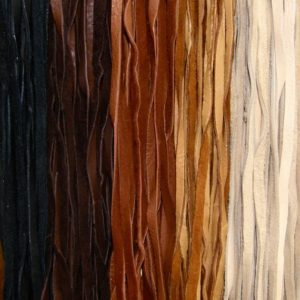 Shop Cord! 6 Feet USA DEERHIDE LEATHER 1/4 Inch Wide Flat Cord | Shop jewelry making and beading supplies, tools & findings for DIY jewelry making and crafts. #jewelrymaking #diyjewelry #jewelrycrafts #jewelrysupplies #beading #affiliate #ad