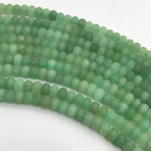 Shop Aventurine Rondelle Beads! 8x5mm Matte Green Aventurine Rondelle Beads, Rondelle Stone Beads, Gemstone Beads | Natural genuine rondelle Aventurine beads for beading and jewelry making.  #jewelry #beads #beadedjewelry #diyjewelry #jewelrymaking #beadstore #beading #affiliate #ad