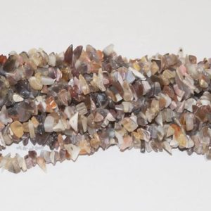 "Shop Agate Chip & Nugget Beads! Botswana Agate Chip Gemstone Bead – 34"" Strand 