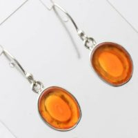 Very Beautiful Orange-peach Agate Earrings, One Of A Kind, 925 Silver, Lake Superior Agate | Natural genuine Gemstone jewelry. Buy crystal jewelry, handmade handcrafted artisan jewelry for women.  Unique handmade gift ideas. #jewelry #beadedjewelry #beadedjewelry #gift #shopping #handmadejewelry #fashion #style #product #jewelry #affiliate #ad