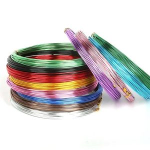 Shop Stringing Material for Jewelry Making! Aluminum wire 12 meter / 1 mm aluminum bending wire jewelry wire craft wires color selection | Shop jewelry making and beading supplies, tools & findings for DIY jewelry making and crafts. #jewelrymaking #diyjewelry #jewelrycrafts #jewelrysupplies #beading #affiliate #ad