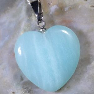 Shop Amazonite Necklaces! Amazonite Healing Stone Necklace with Positive healing Energy for the Heart and Throat Chakras! | Natural genuine Amazonite necklaces. Buy crystal jewelry, handmade handcrafted artisan jewelry for women.  Unique handmade gift ideas. #jewelry #beadednecklaces #beadedjewelry #gift #shopping #handmadejewelry #fashion #style #product #necklaces #affiliate #ad