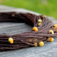 Natural Linen Necklace With Baltic Amber Rustic Jewelry Multi Strand Necklace Eco Earth Colors Brown Yellow Summer Fashion Gift For Her   Natural genuine Gemstone jewelry. Buy crystal jewelry, handmade handcrafted artisan jewelry for women.  Unique handmade gift ideas. #jewelry #beadedjewelry #beadedjewelry #gift #shopping #handmadejewelry #fashion #style #product #jewelry #affiliate #ad