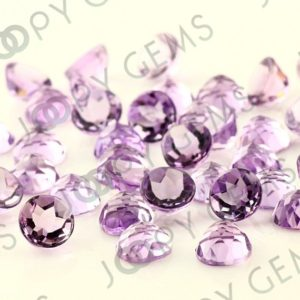 Shop Amethyst Stones & Crystals! Pink Amethyst Rose Cut Round Cabochon 8mm – 1 cab | Natural genuine stones & crystals in various shapes & sizes. Buy raw cut, tumbled, or polished gemstones for making jewelry or crystal healing energy vibration raising reiki stones. #crystals #gemstones #crystalhealing #crystalsandgemstones #energyhealing #affiliate #ad