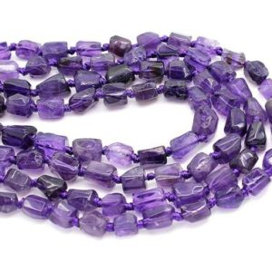 Shop Amethyst Chip & Nugget Beads! Natural Amethyst Faceted Rough Nugget Chips Loose Natural Gemstone Beads – PGS226 | Natural genuine chip Amethyst beads for beading and jewelry making.  #jewelry #beads #beadedjewelry #diyjewelry #jewelrymaking #beadstore #beading #affiliate #ad