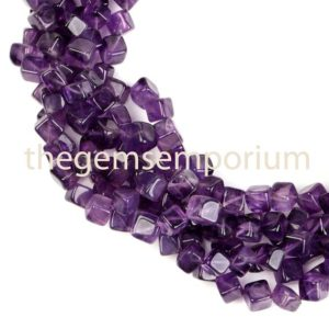 Shop Amethyst Bead Shapes! Amethyst Plain Box Gemstone Beads, Natural Smooth Gemstone Beads, Gemstone Beads, AA Quality,Gemstone for Jewelry Making | Natural genuine other-shape Amethyst beads for beading and jewelry making.  #jewelry #beads #beadedjewelry #diyjewelry #jewelrymaking #beadstore #beading #affiliate #ad