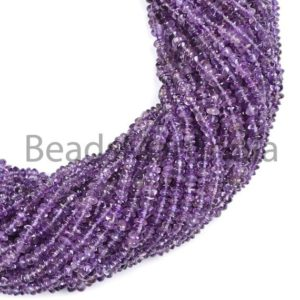 Shop Amethyst Bead Shapes! Purple Amethyst Smooth Button Beads, Amethyst Button Beads, Plain Amethyst Beads, Amethyst Button Beads, Amethyst Beads 4-5MM | Natural genuine other-shape Amethyst beads for beading and jewelry making.  #jewelry #beads #beadedjewelry #diyjewelry #jewelrymaking #beadstore #beading #affiliate #ad