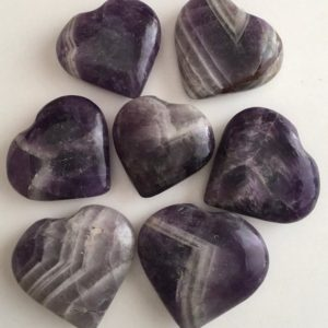 Shop Amethyst Shapes! Amethyst Gemstone Heart,Stability Stone, Calming, Healing Crystals, Healing Stones, Spiritual Stone, Chakra Stone | Natural genuine stones & crystals in various shapes & sizes. Buy raw cut, tumbled, or polished gemstones for making jewelry or crystal healing energy vibration raising reiki stones. #crystals #gemstones #crystalhealing #crystalsandgemstones #energyhealing #affiliate #ad
