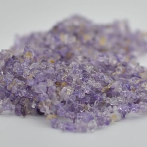 """Shop Ametrine Chip & Nugget Beads! High Quality Grade A Natural Ametrine Semi-precious Gemstone Chips Nuggets Beads – 5mm – 8mm, Approx 36"""" Strand 