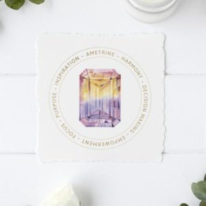 Shop Printable Crystal Cards, Pages, & Posters! Ametrine Crystal Card – Printable  Files – Crystal Meaning – Jewelry Display Card – Gift Box Tag – Package Insert | Shop jewelry making and beading supplies, tools & findings for DIY jewelry making and crafts. #jewelrymaking #diyjewelry #jewelrycrafts #jewelrysupplies #beading #affiliate #ad