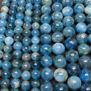 Shop Apatite Bead Shapes! Apatite Beads – Polished Apatite Beads – 15in Strand 6mm 8mm Bead Sizes – Apatite Gemstone Bead – High Quality Apatite Beads | Natural genuine other-shape Apatite beads for beading and jewelry making.  #jewelry #beads #beadedjewelry #diyjewelry #jewelrymaking #beadstore #beading #affiliate #ad