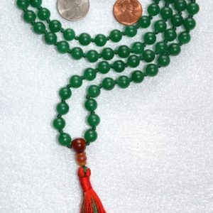 Shop Aventurine Necklaces! 108 Green Mala Beads, Knotted Mala Tassel Necklace, Yoga Jewelry – Green Aventurine – Reinforces Decisiveness, Positive Attitude,Leadership | Natural genuine Aventurine necklaces. Buy crystal jewelry, handmade handcrafted artisan jewelry for women.  Unique handmade gift ideas. #jewelry #beadednecklaces #beadedjewelry #gift #shopping #handmadejewelry #fashion #style #product #necklaces #affiliate #ad
