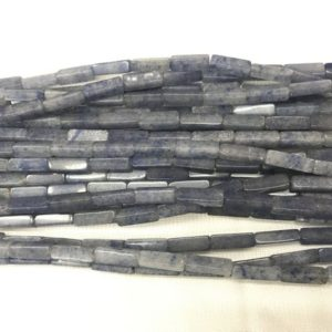 Shop Aventurine Bead Shapes! Natural Aventurine 4x13mm Cuboid Genuine Blue Loose Gemstone Tube Beads 15 Inch Jewelry Supply Bracelet Necklace Material Support Wholesale | Natural genuine other-shape Aventurine beads for beading and jewelry making.  #jewelry #beads #beadedjewelry #diyjewelry #jewelrymaking #beadstore #beading #affiliate #ad