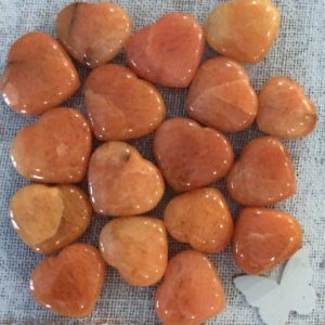 Shop Aventurine Shapes! Red Aventurine Gemstone Heart, Spiritual Stone, Healing Stone, Healing Crystal, Chakra | Natural genuine stones & crystals in various shapes & sizes. Buy raw cut, tumbled, or polished gemstones for making jewelry or crystal healing energy vibration raising reiki stones. #crystals #gemstones #crystalhealing #crystalsandgemstones #energyhealing #affiliate #ad
