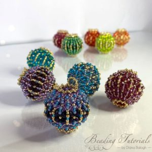 Shop Jewelry Making Tutorials! Beading tutorial and pattern, Lantern beaded bead beading pattern, beaded bead beading tutorial, living room art, beaded light string | Shop jewelry making and beading supplies, tools & findings for DIY jewelry making and crafts. #jewelrymaking #diyjewelry #jewelrycrafts #jewelrysupplies #beading #affiliate #ad