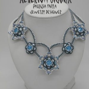 Shop Jewelry Making Tutorials! Beading tutorials and patterns Calispéra, beadwork, bead pattern, bead tutorial, beading, bead instruction, pattern, beading instructions | Shop jewelry making and beading supplies, tools & findings for DIY jewelry making and crafts. #jewelrymaking #diyjewelry #jewelrycrafts #jewelrysupplies #beading #affiliate #ad