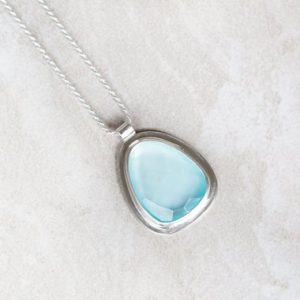 Shop Blue Chalcedony Pendants! Blue Chalcedony Pendant, Chalcedony Necklace, Rose Cut Aqua Chalcedony Necklace, Organic Silver Pendant, Light Blue Nautical Pendant | Natural genuine Blue Chalcedony pendants. Buy crystal jewelry, handmade handcrafted artisan jewelry for women.  Unique handmade gift ideas. #jewelry #beadedpendants #beadedjewelry #gift #shopping #handmadejewelry #fashion #style #product #pendants #affiliate #ad