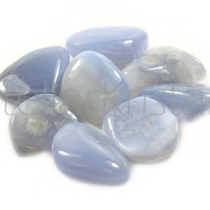 Blue Chalcedony – single stone  -Tumbled Gemstone Collection | Natural genuine stones & crystals in various shapes & sizes. Buy raw cut, tumbled, or polished gemstones for making jewelry or crystal healing energy vibration raising reiki stones. #crystals #gemstones #crystalhealing #crystalsandgemstones #energyhealing #affiliate #ad