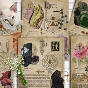 Shop Printable Crystal Cards, Pages, & Posters! Book of Shadows, Printable pages of Crystals and Minerals, Witchcraft, BOS Sheets, Magic Potion, Spell Ingredient, Witch encyclopedia 8 DIY | Shop jewelry making and beading supplies, tools & findings for DIY jewelry making and crafts. #jewelrymaking #diyjewelry #jewelrycrafts #jewelrysupplies #beading #affiliate #ad