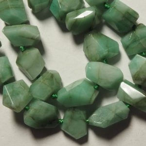 Shop Emerald Chip & Nugget Beads! 44 pcs Emerald beads, center drilled / vertical drilled, faceted, freeform nugget, | Natural genuine chip Emerald beads for beading and jewelry making.  #jewelry #beads #beadedjewelry #diyjewelry #jewelrymaking #beadstore #beading #affiliate #ad