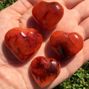 Shop Stone Spheres, Hearts & Other Shapes! Carnelian heart (small) – Carnelian stone heart – carnelian crystal heart – Sacral chakra stones – healing crystals and stones – Carnelian | Natural genuine stones & crystals in various shapes & sizes. Buy raw cut, tumbled, or polished gemstones for making jewelry or crystal healing energy vibration raising reiki stones. #crystals #gemstones #crystalhealing #crystalsandgemstones #energyhealing #affiliate #ad