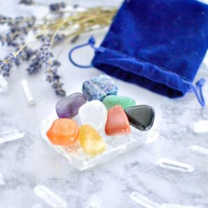 Shop Chakra Stone Sets! Full Chakra Crystal Set//Crystal Collection//Chakra Balancing Crystals//Chakra Set//Meditation Crystals//Yoga Practice//Crystal Gift Idea | Shop jewelry making and beading supplies, tools & findings for DIY jewelry making and crafts. #jewelrymaking #diyjewelry #jewelrycrafts #jewelrysupplies #beading #affiliate #ad