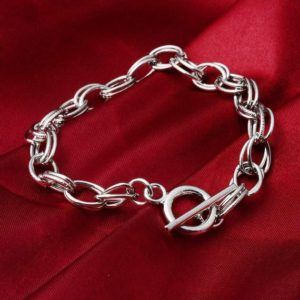 Shop Charm Bracelet Blanks! Charm Bracelet Blanks Silver Charm Bracelets Double Link Chain Bracelets Toggle Clasps Bracelets Wholesale Bracelets Jewelry Making 20pcs | Shop jewelry making and beading supplies, tools & findings for DIY jewelry making and crafts. #jewelrymaking #diyjewelry #jewelrycrafts #jewelrysupplies #beading #affiliate #ad