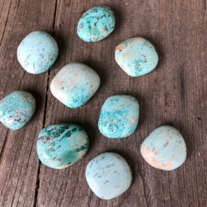 Shop Chrysocolla Stones & Crystals! Chrysocolla pillows WS4521 | Natural genuine stones & crystals in various shapes & sizes. Buy raw cut, tumbled, or polished gemstones for making jewelry or crystal healing energy vibration raising reiki stones. #crystals #gemstones #crystalhealing #crystalsandgemstones #energyhealing #affiliate #ad