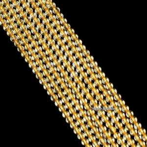 2mm Honey Citrine Gemstone Grade AAA Deep Yellow Round 2mm Loose Beads 15.5 inch Full Strand (90143430-107-2g) | Natural genuine beads Array beads for beading and jewelry making.  #jewelry #beads #beadedjewelry #diyjewelry #jewelrymaking #beadstore #beading #affiliate #ad
