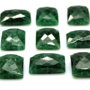 Shop Emerald Stones & Crystals! CLEARANCE SALE – Agate emerald cabochon,rectangle cabochon,rectangular gemstone,semiprecious agate,agate cabochons,green cabochon | Natural genuine stones & crystals in various shapes & sizes. Buy raw cut, tumbled, or polished gemstones for making jewelry or crystal healing energy vibration raising reiki stones. #crystals #gemstones #crystalhealing #crystalsandgemstones #energyhealing #affiliate #ad