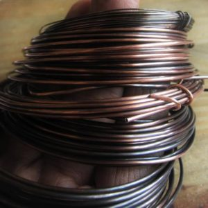 Copper Wire Oxidized Copper Jewelry Wire Antique Copper Wire 16GA 18GA 20GA 22GA 24GA 26GA 28GAItem No. CPRWIRE | Shop jewelry making and beading supplies, tools & findings for DIY jewelry making and crafts. #jewelrymaking #diyjewelry #jewelrycrafts #jewelrysupplies #beading #affiliate #ad