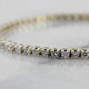 Shop Diamond Bracelets! Diamond Tennis Gold Bracelet, 55 Diamond Bracelet, Classic Diamond Bracelet, Anniversary Gift, Bridal Jewelry, Birthday Gift, P4Y188-R | Natural genuine Diamond bracelets. Buy handcrafted artisan wedding jewelry.  Unique handmade bridal jewelry gift ideas. #jewelry #beadedbracelets #gift #crystaljewelry #shopping #handmadejewelry #wedding #bridal #bracelets #affiliate #ad