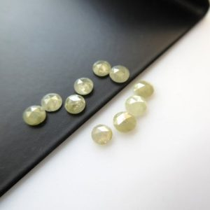 Shop Diamond Cabochons! 15 Pieces, 1mm Pistachio Green Rose Cut Diamond, Rose Cut Cabochon, Excellent Cut/Height/Lustre/Calibrated Rose Cut Diamond, SKU-RCD27 | Natural genuine stones & crystals in various shapes & sizes. Buy raw cut, tumbled, or polished gemstones for making jewelry or crystal healing energy vibration raising reiki stones. #crystals #gemstones #crystalhealing #crystalsandgemstones #energyhealing #affiliate #ad