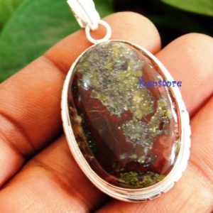 Shop Bloodstone Necklaces! Dragon bloodstone pendant, bloodstone pendant, Dragon blood gemstone pendant,bloodstone jewelry, bloodstone necklace,pendant for necklace,#1 | Natural genuine Bloodstone necklaces. Buy crystal jewelry, handmade handcrafted artisan jewelry for women.  Unique handmade gift ideas. #jewelry #beadednecklaces #beadedjewelry #gift #shopping #handmadejewelry #fashion #style #product #necklaces #affiliate #ad