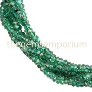 Shop Emerald Faceted Beads! Emerald Faceted Rondelle Beads,Emerald Faceted Beads,Top Quality Emerald Beads,Emerald Rondelle Beads,Emerald Wholesale Beads,Emerald Beads | Natural genuine faceted Emerald beads for beading and jewelry making.  #jewelry #beads #beadedjewelry #diyjewelry #jewelrymaking #beadstore #beading #affiliate #ad